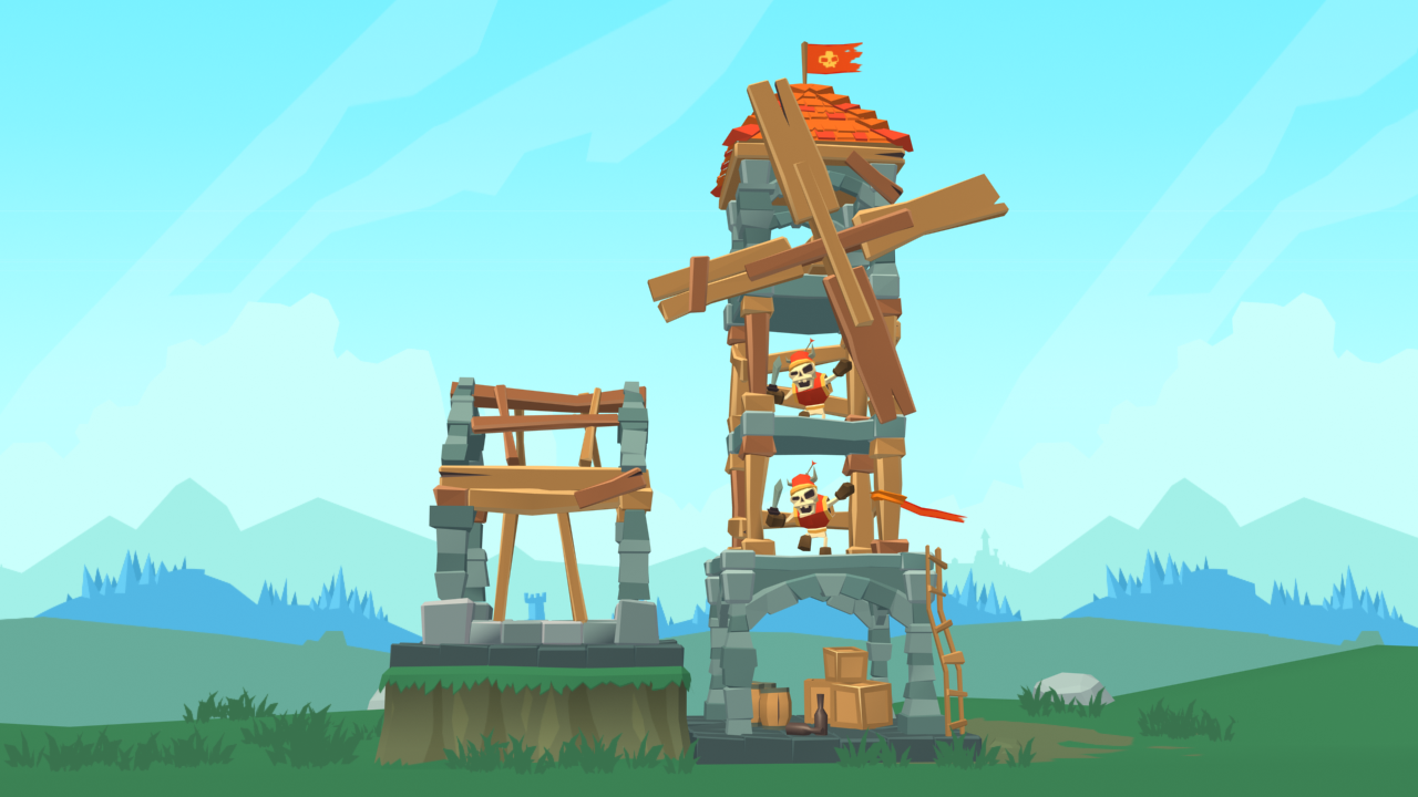Crush the Castle mockup